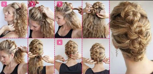 penteados moicano para casamento