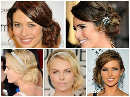 penteados das famosas americanas