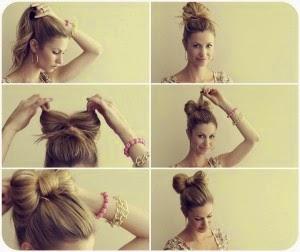 Como fazer penteados diferentes