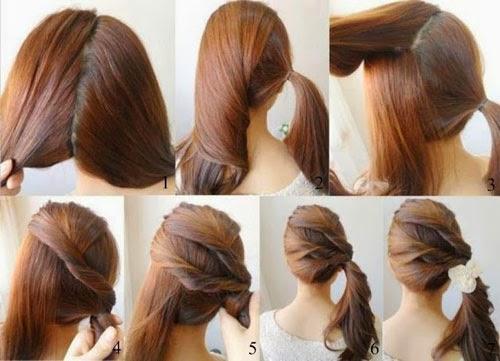 Fazer penteados para formatura sozinha