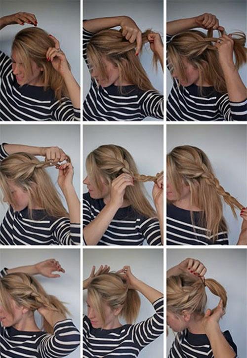 tranças para cabelos curtos como fazer
