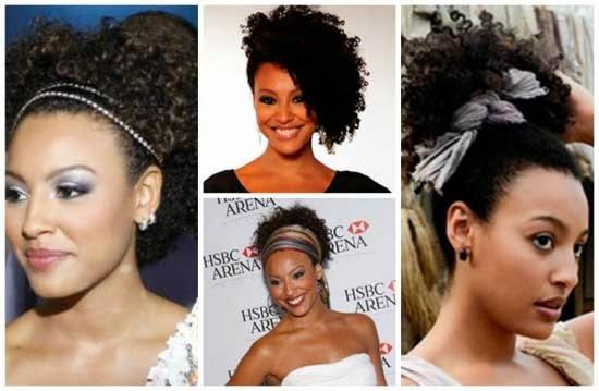 penteados simples e rapidos para cabelos crespos