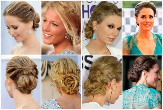 penteados das famosas de hollywood