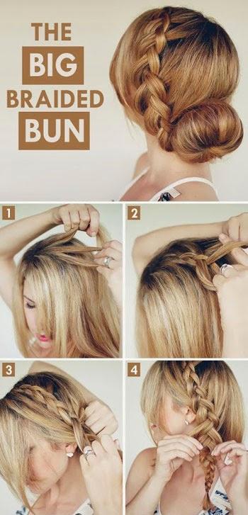 como fazer penteados para festa