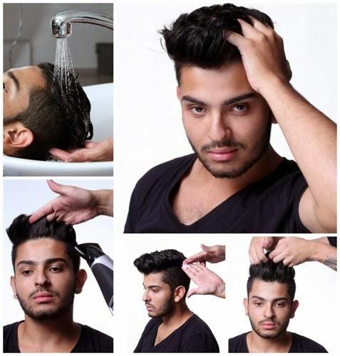 tutorial penteados masculinos para balada