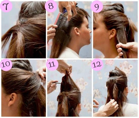 como fazer penteados para cabelo curto