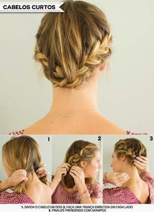 dicas de penteados para cabelos curtos
