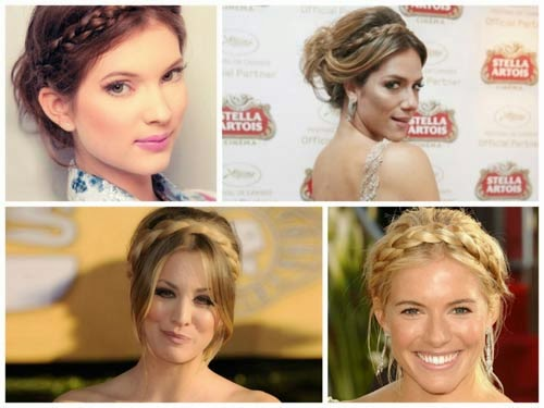 penteados simples gregos lindos