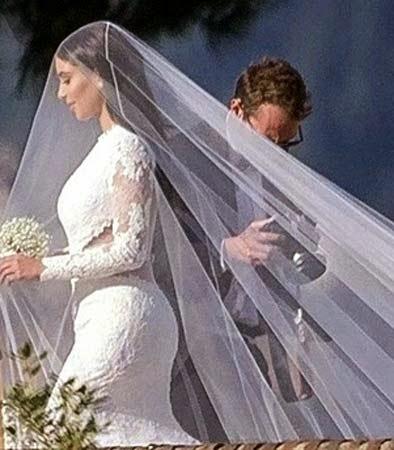 penteados para noivas com véu longo