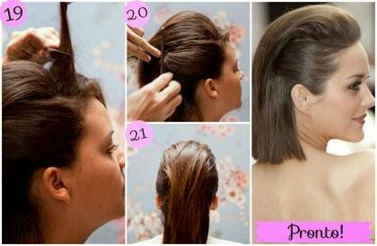 fotos de penteado para cabelos curtos