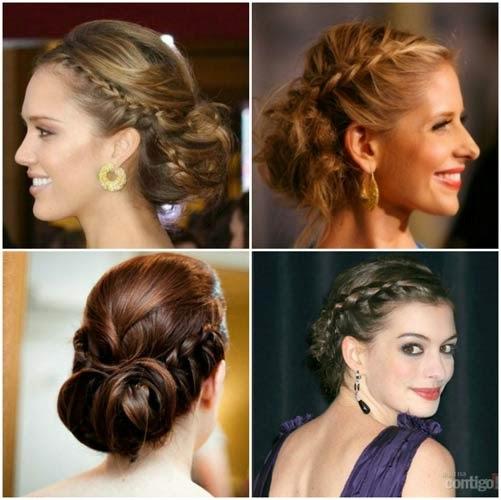 penteado grego para noivas
