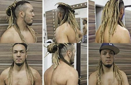 dreadlocks masculinos