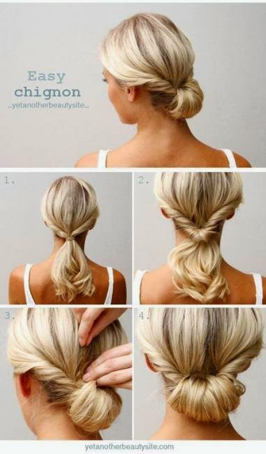 como fazer penteados simples para cabelos curtos e lisos
