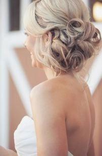 penteado com coque de casamento para dia