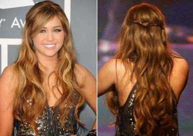 penteado de natal para cabelos semi presos
