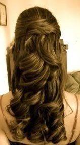 penteados com cachos para formatura passo a passo