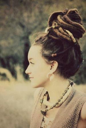 modelos de penteados com dreads