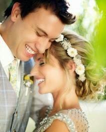 penteado com arranjo de noiva para dia