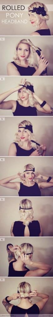 como fazer cabelos cacheados vintage fácil
