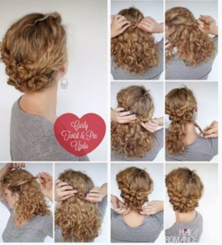 penteados simples para cabelos curtos passo a passo