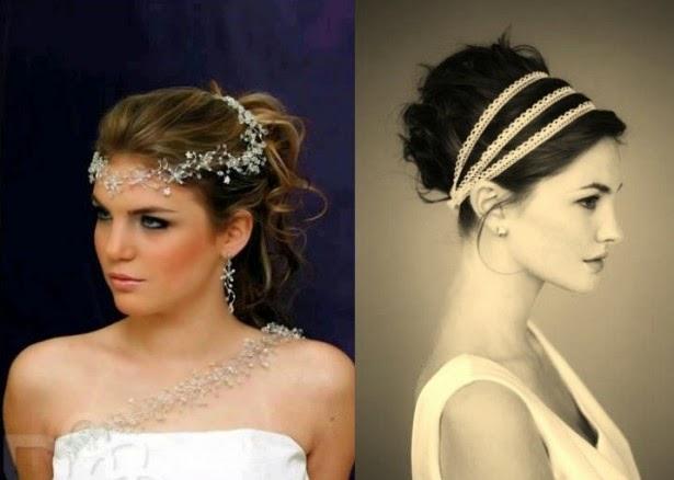 penteado preso com coroas diferentes