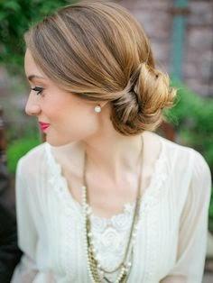 fotos de penteados para madrinhas de casamento a noite
