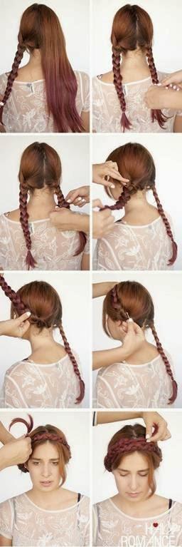 penteados presos para madrinhas, festas ou formatura