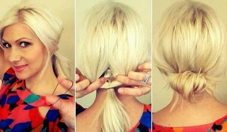 penteados presos para o dia a dia