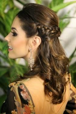 penteados lindos para ano novo